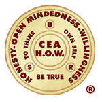 Compulsive Eaters Anonymous HOW (CEA-HOW) Logo